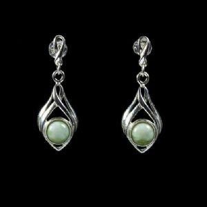 Silver Drop Earrings - SDE-1921
